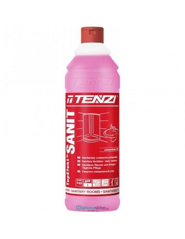 TENZI TOPEFEKT SANIT 1L Koncentrat. Codzienne mycie pomieszczeń i urządzeń sanitarnych.