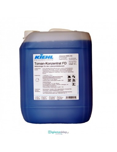 KIEHL TORVAN-KONZENTRAT FD 10L Płyn aktywnie myjący dla obszaru spożywczego