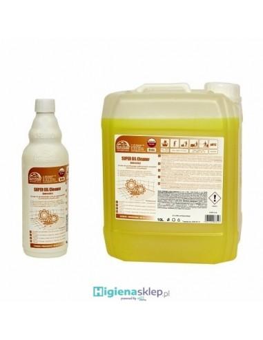 DOLPHIN SUPER OIL CLEANER Usuwanie mocnych zabrudzeń olejowo tłuszczowych z powierzchni okapów kuchennyc