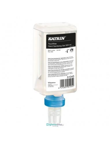 51045 KATRIN Żel do dezynfekcji do dozownika bezdotykowego 500 ml