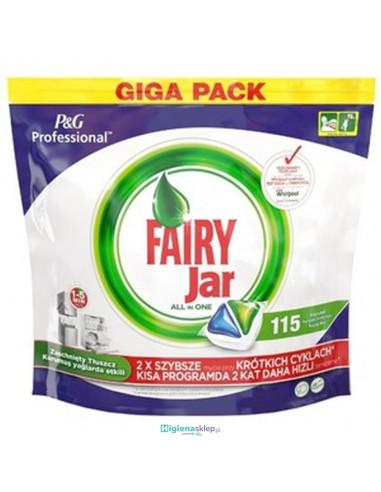 Fairy Professional kapsułki do zmywarki All-In-One Original 115 sztuk