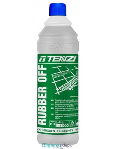 TENZI Ruber Off Koncentrat. Usuwanie zanieczyszczeń z wulkanizowanej gumy na posadzkach.
