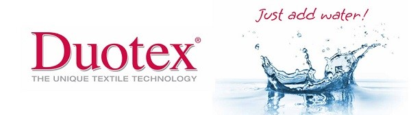 Duotex - Just add water!